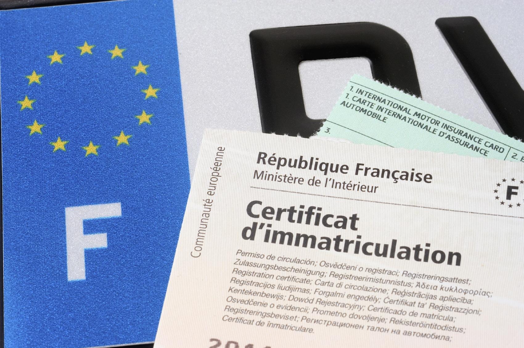 Carte grise et formalités administratives